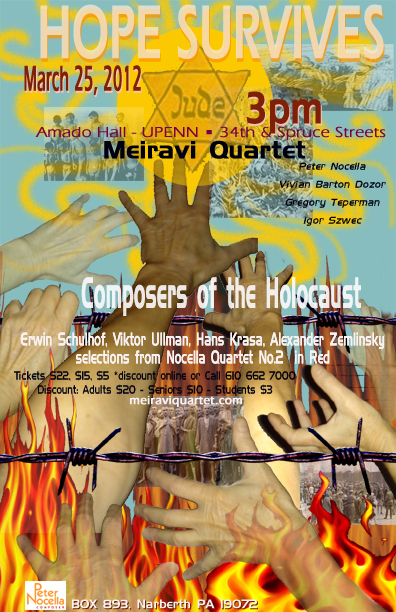 Meiravi Quartet's new album - Hope Survives